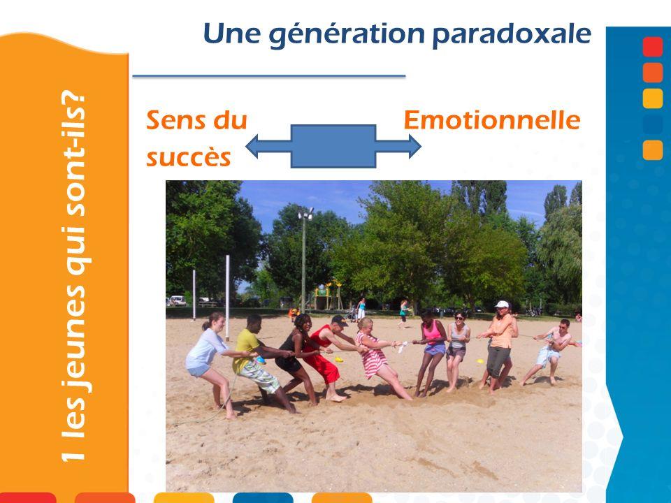 Sens du Emotionnelle succès 1 les jeunes qui sont-ils? Une génération paradoxale