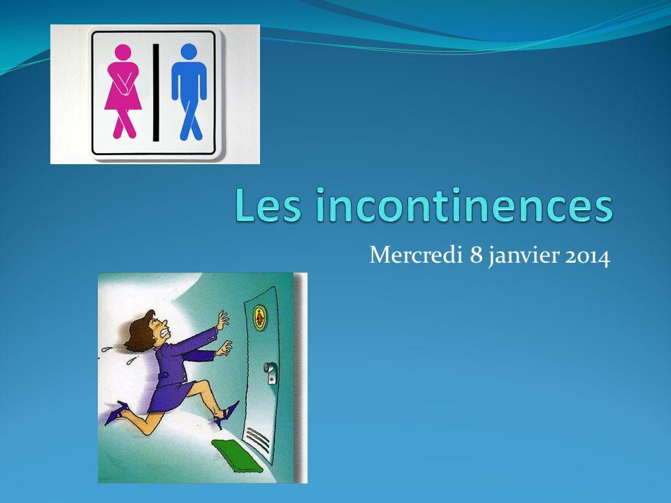 Incontinence urinaire Épidémiologie Prévalence augmente avec lâge.