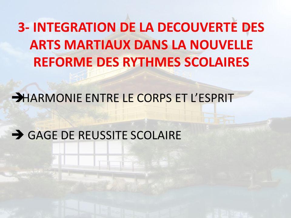 HARMONIE ENTRE LE CORPS ET LESPRIT GAGE DE REUSSITE SCOLAIRE