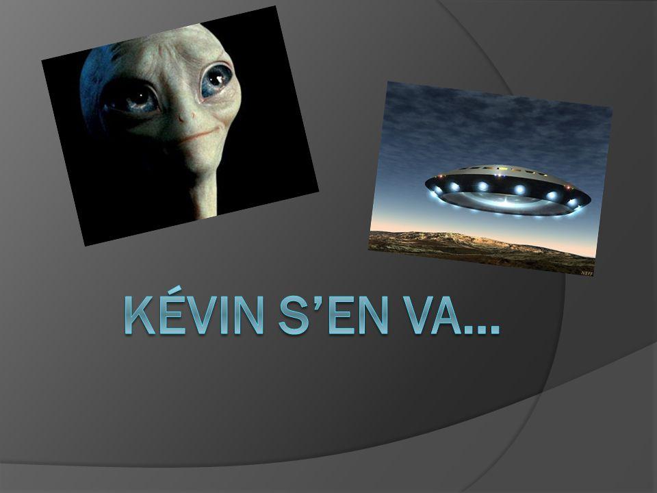 Mais Kévin a un problème : il est devenu bleu suite à sa soirée dadieu dans un laboratoire* * Déconseiller de faire une fête dans un laboratoire Kévin devenu bleu = Kévin malade
