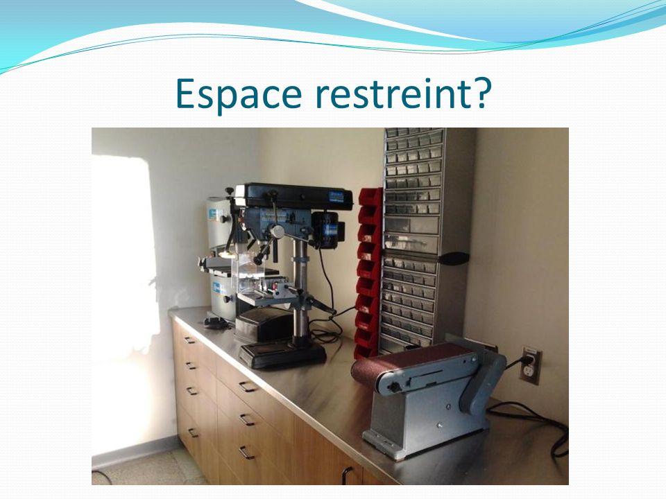 Espace restreint?