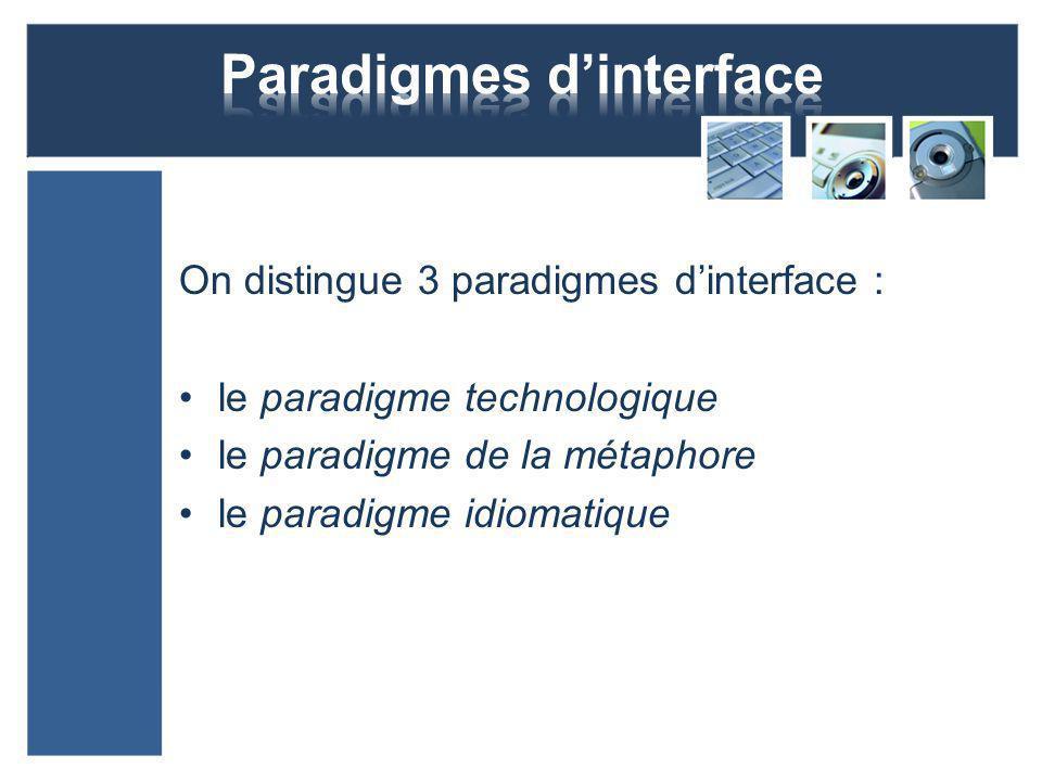 Interface sensorielle (gestuelle) Tout matériau, toute surface qui nous entoure, peut potentiellement servir dinterface.