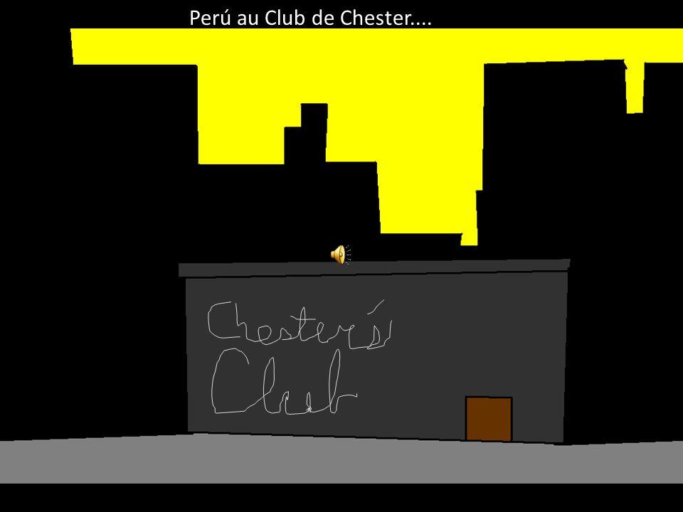 Ne me faites pas du mal, monsieur, il vous faut simplement aller au Club de Chester et chercher Sébastian!