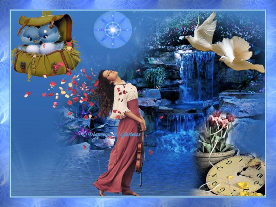 Dentendre le doux chant de la colombe Et les plus belles mélodies du monde Sur le cadran des heures qui ségrènent Jai besoin de fraîcheur et doxygène.