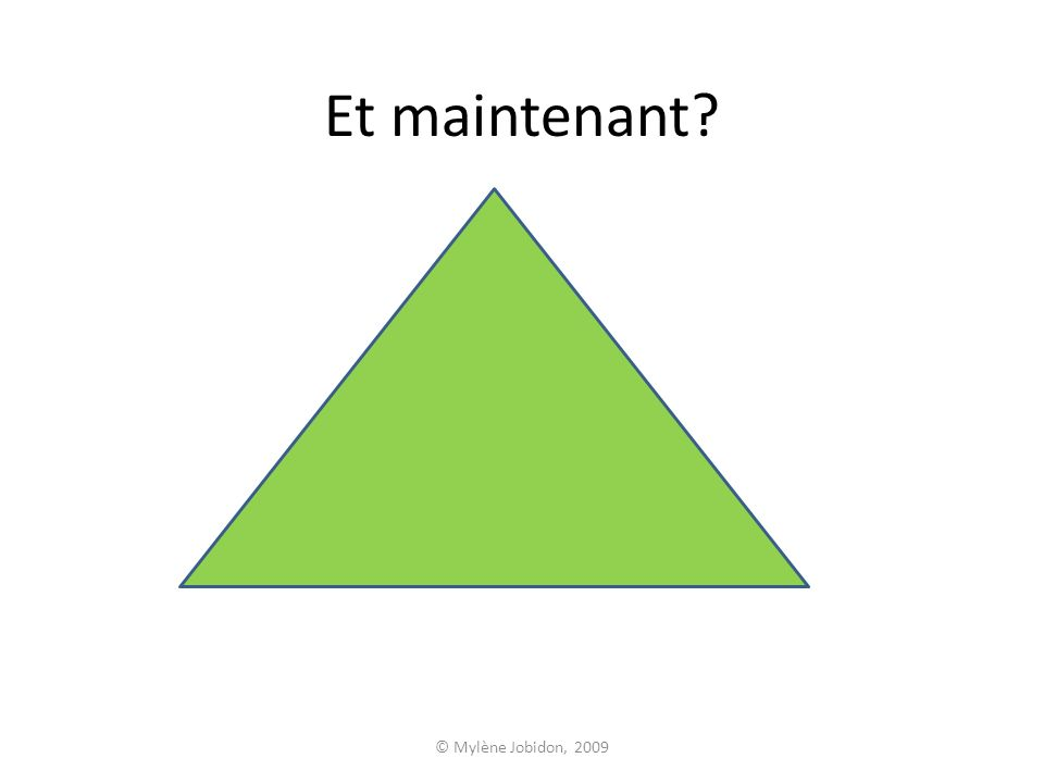 © Mylène Jobidon, 2009 Plan de la leçon THÉORIE DE MASLOW Maslow La pyramide Les besoins des enfants Application de la théorie