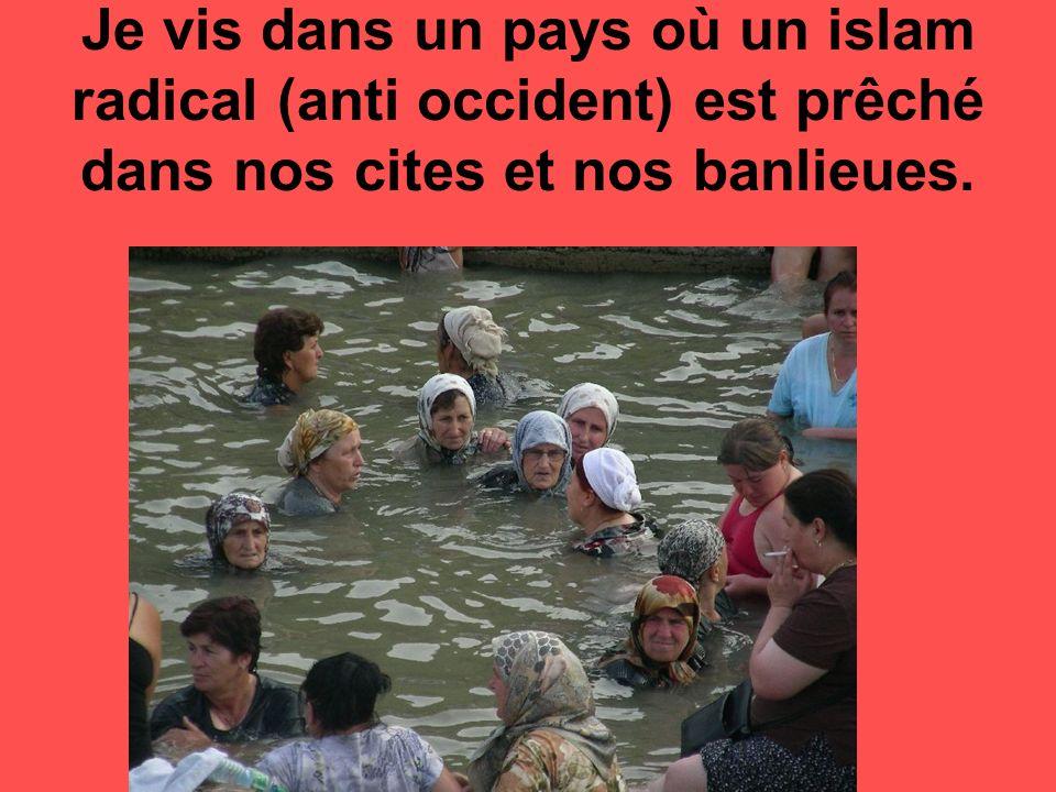 - Je vis dans un pays où les gens qui portent une casquette ou un foulard se croient tout permis.