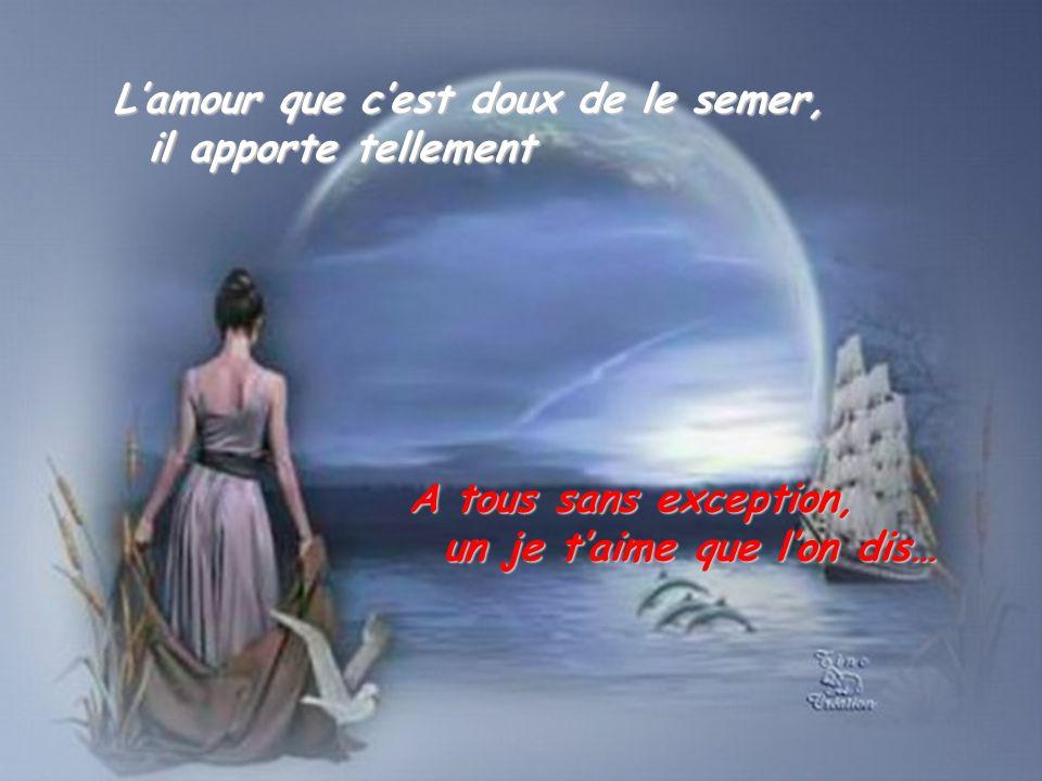 Dans nos vies… le courage de faire un pas en avant… le courage de faire un pas en avant… Le courage aussi daccepter nos erreurs…
