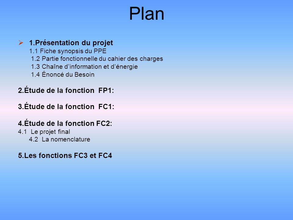 Fiche synopsis du PPE Thème et support retenu : Thème 6 : Rechercher, proposer et discuter des alternatives des solutions pour réaliser une fonction technique simple donnée, définie par son cahier des charges.