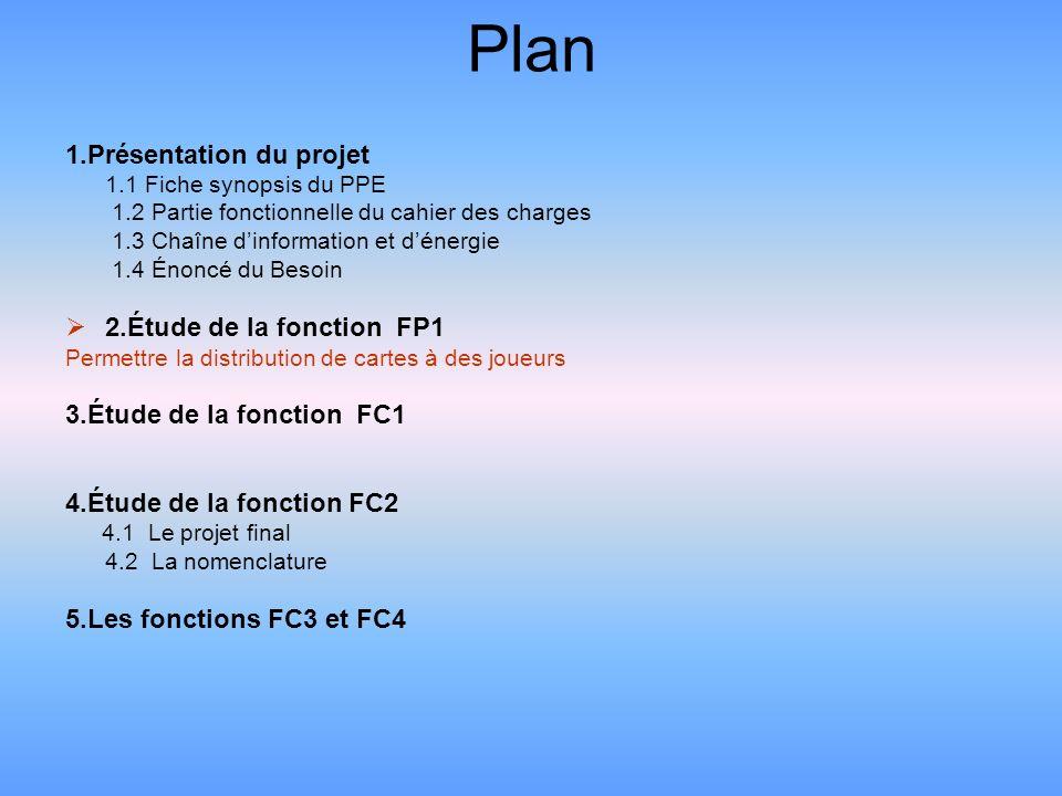 Étude de la fonction FP1: permettre la distribution de cartes à des joueurs Programmation: La programmation sest faite sous Flowcode qui est un logiciel permettant une programmation facile et rapide des microprocesseur PIC.