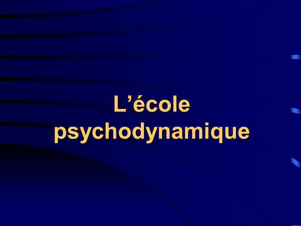 Lécole psychodynamique