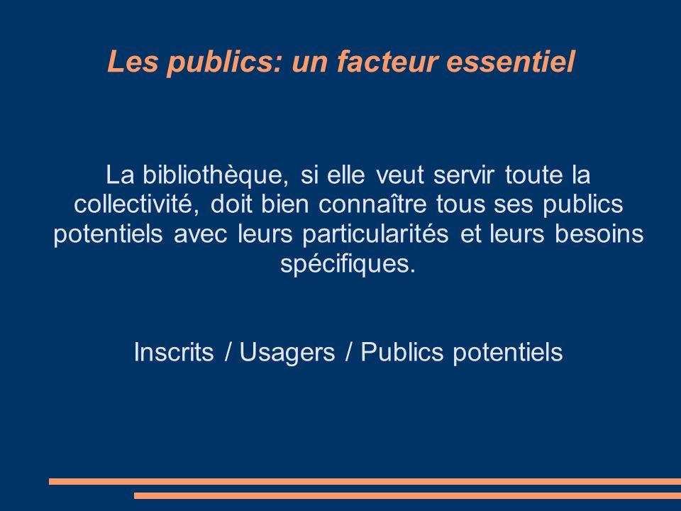Typologie des publics > Des publics hétérogènes > Des publics spécifiques > Des publics empêchés