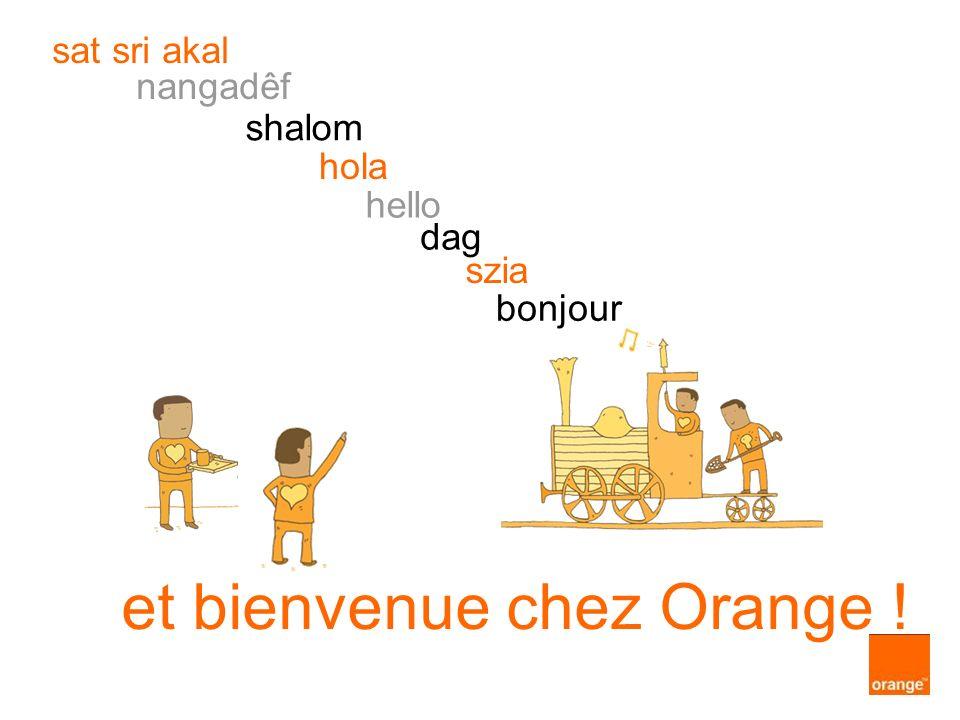 et bienvenue chez Orange ! szia dag hello hola shalom nangadêf sat sri akal bonjour
