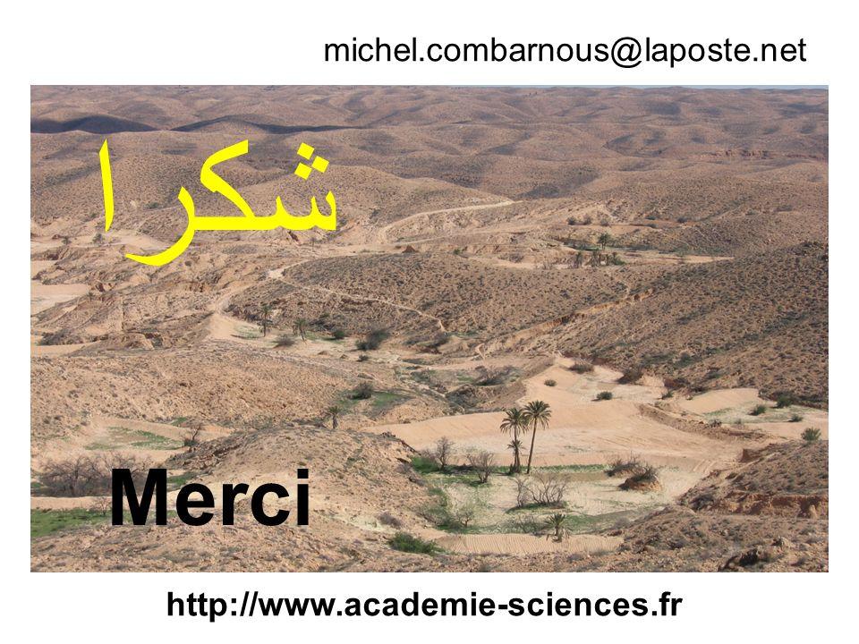 michel.combarnous@laposte.net Merci http://www.academie-sciences.fr