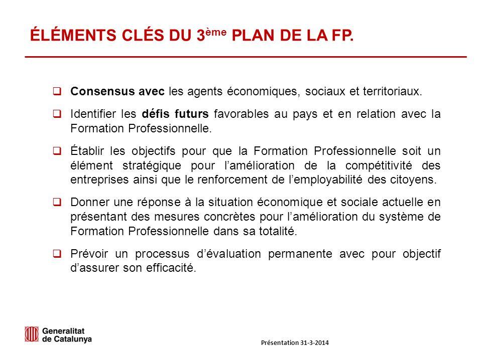 Consensus avec les agents économiques, sociaux et territoriaux.