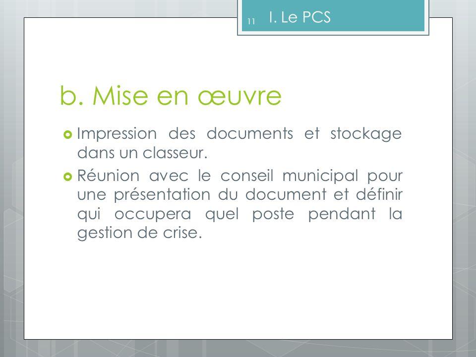 II.Le Document dInformation Communal sur les Risques Majeurs (DICRIM) a.