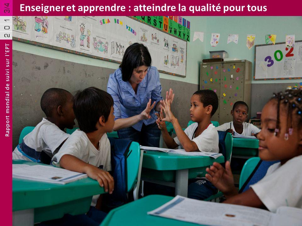 Rapport mondial de suivi sur lEPT Enseigner et apprendre : atteindre la qualité pour tous