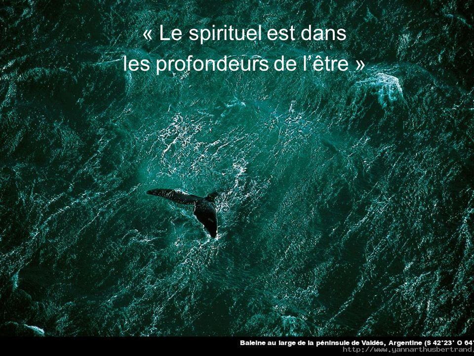 « Avec le questionnement spirituel, on est dans lintime »