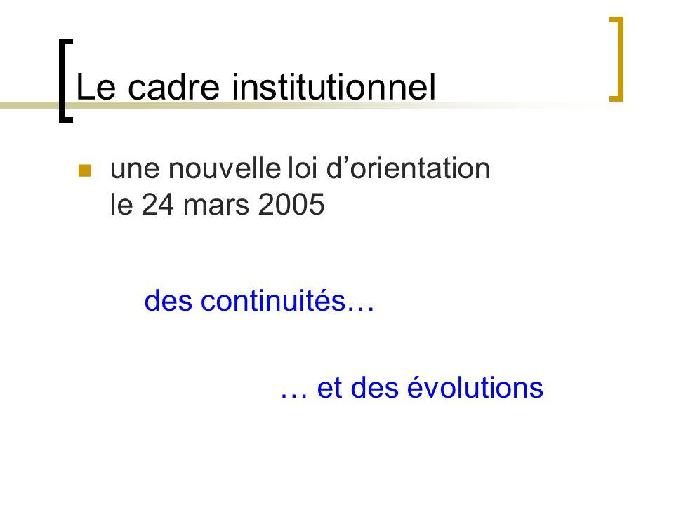 de nouveaux paramètres La mise en œuvre des programmes 2002 Les TICE : B2i Langue étrangère Littérature Sciences et technologie Maîtrise de la langue