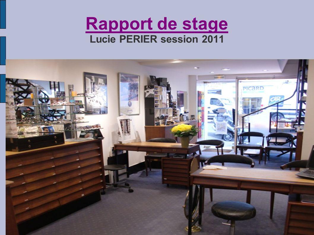 Rapport de stage Lucie PERIER session 2011