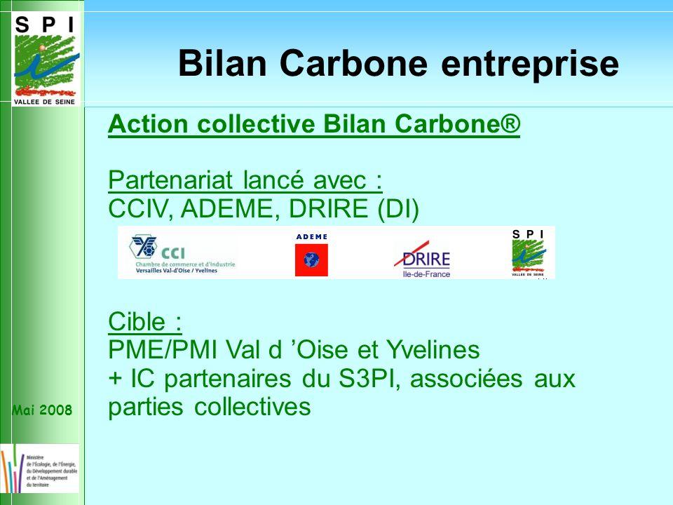 Mai 2008 Action nationale 2008 : « Linspection des installations classées veillera en outre à ce que, conformément aux décisions prises lors du Grenelle de lenvironnement, les catégories dinstallations classées les plus concernées réalisent un bilan carbone de leurs activités.