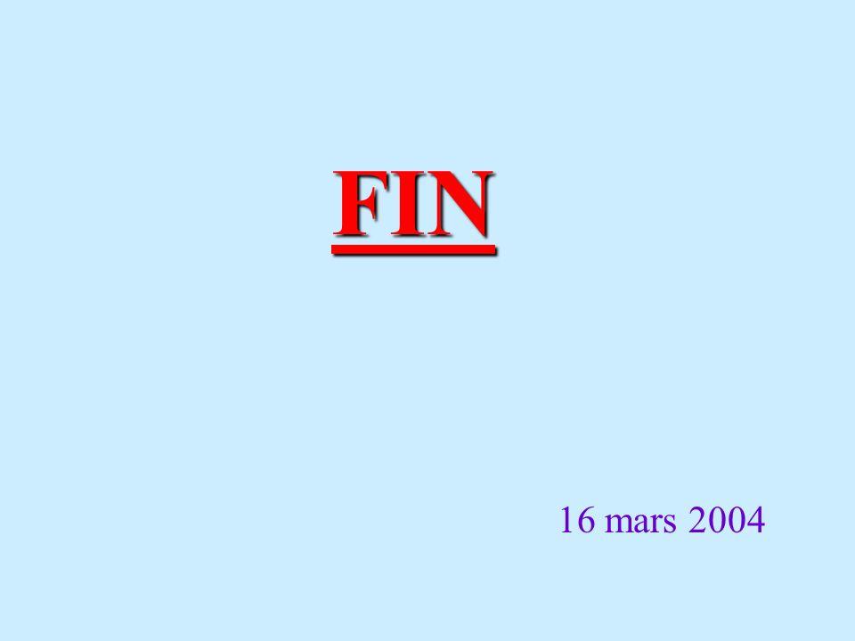 FIN 16 mars 2004