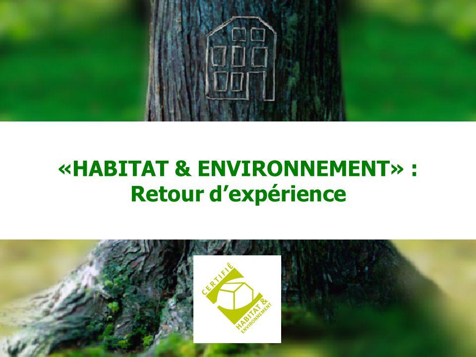 CERQUAL 39 «HABITAT & ENVIRONNEMENT» : Retour dexpérience