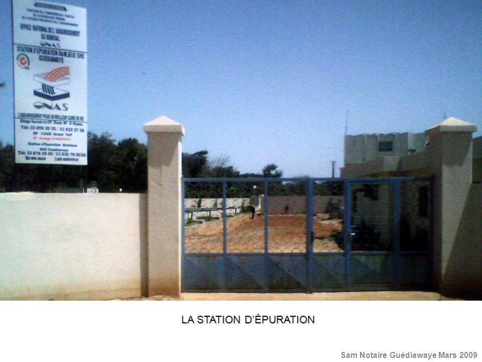 LA STATION DÉPURATION Sam Notaire Guédiawaye Mars 2009