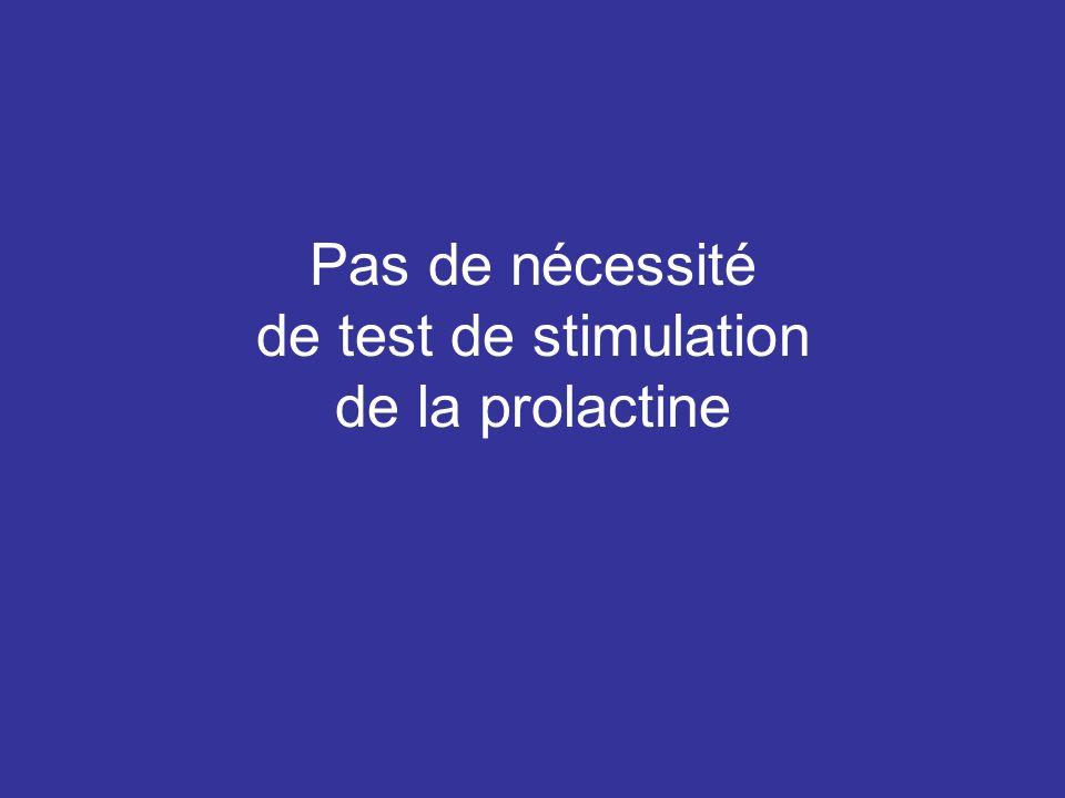 CYCLE NYCTHEMERAL DE LA PROLACTINE