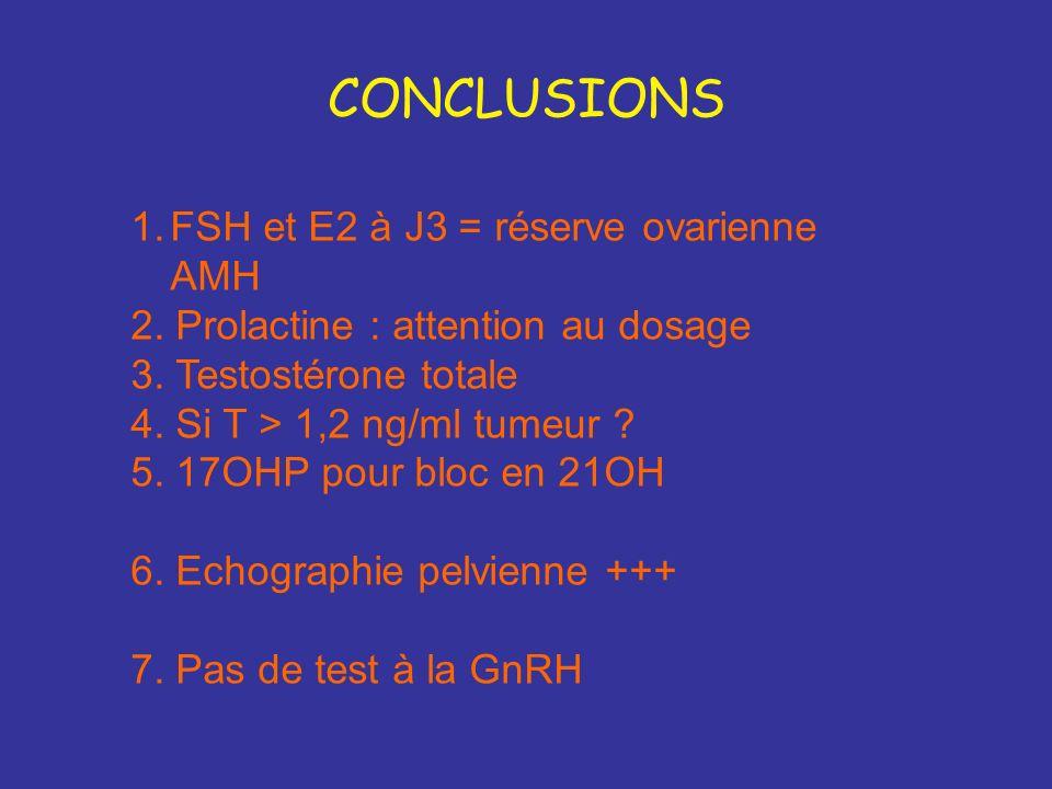 Examens biologiques non nécessaires Hyperglycémie provoquée orale Insulinémie car glycémie fiable pas de corrélation avec la réponse aux traitements p