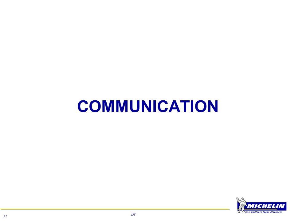 D3 17 COMMUNICATION