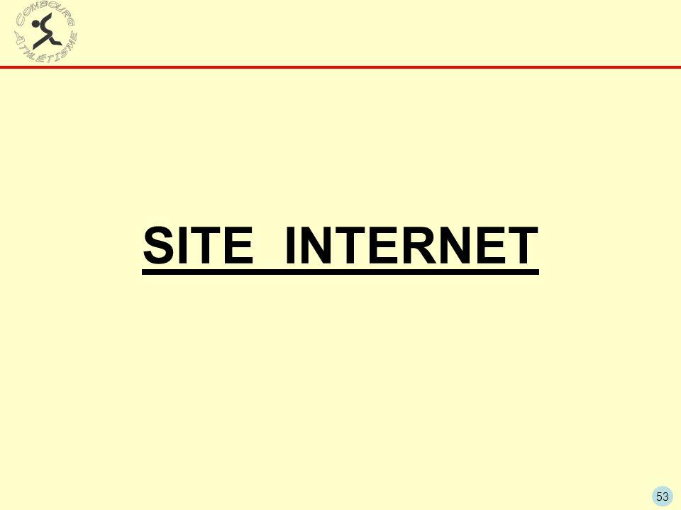 53 SITE INTERNET