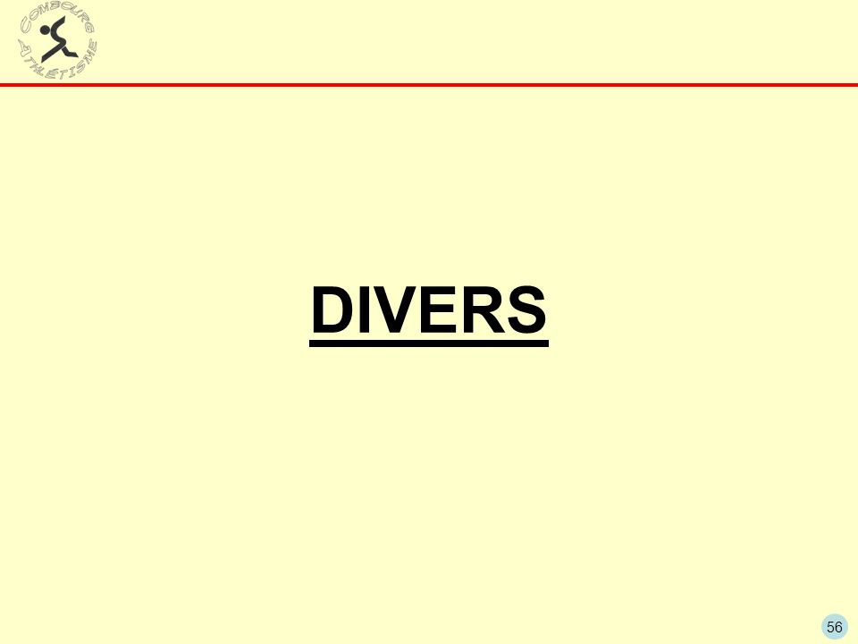 56 DIVERS