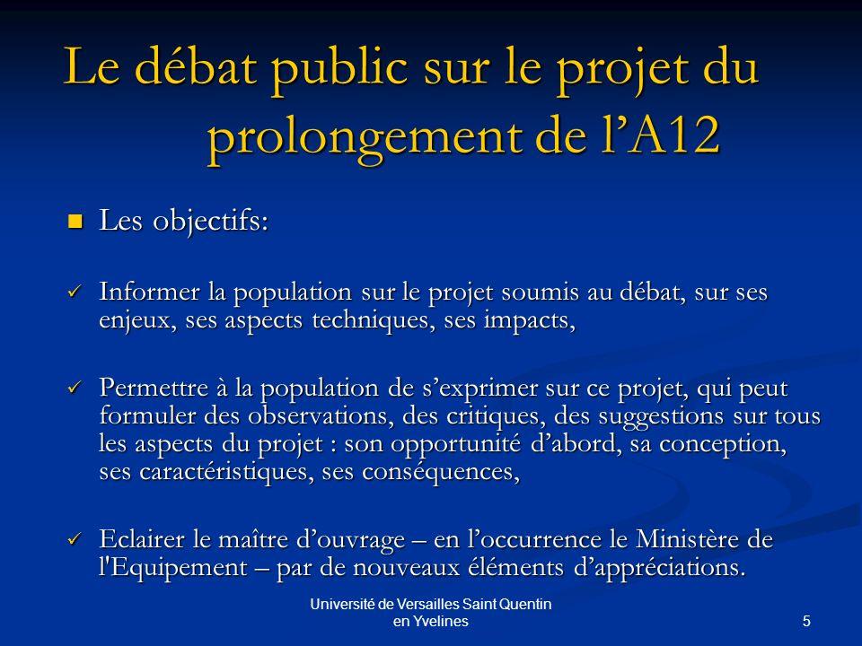 6 Université de Versailles Saint Quentin en Yvelines La remontée dinformations Vers une meilleure visibilité des individus en tant que personnes.