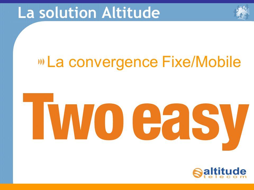 La solution Altitude La convergence Fixe/Mobile