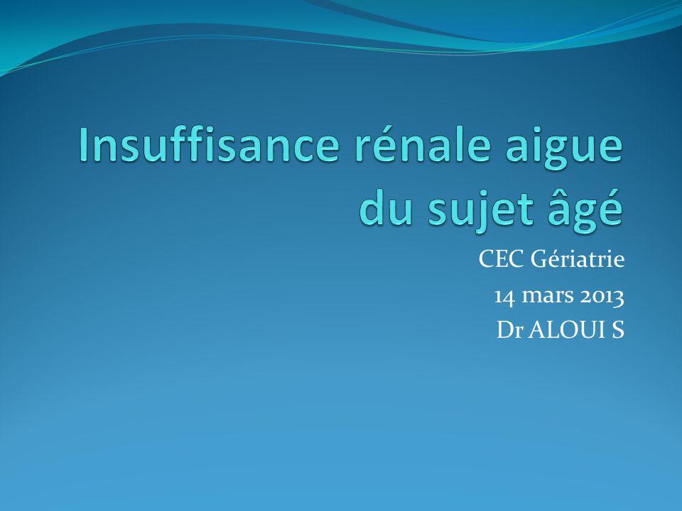 CEC Gériatrie 14 mars 2013 Dr ALOUI S
