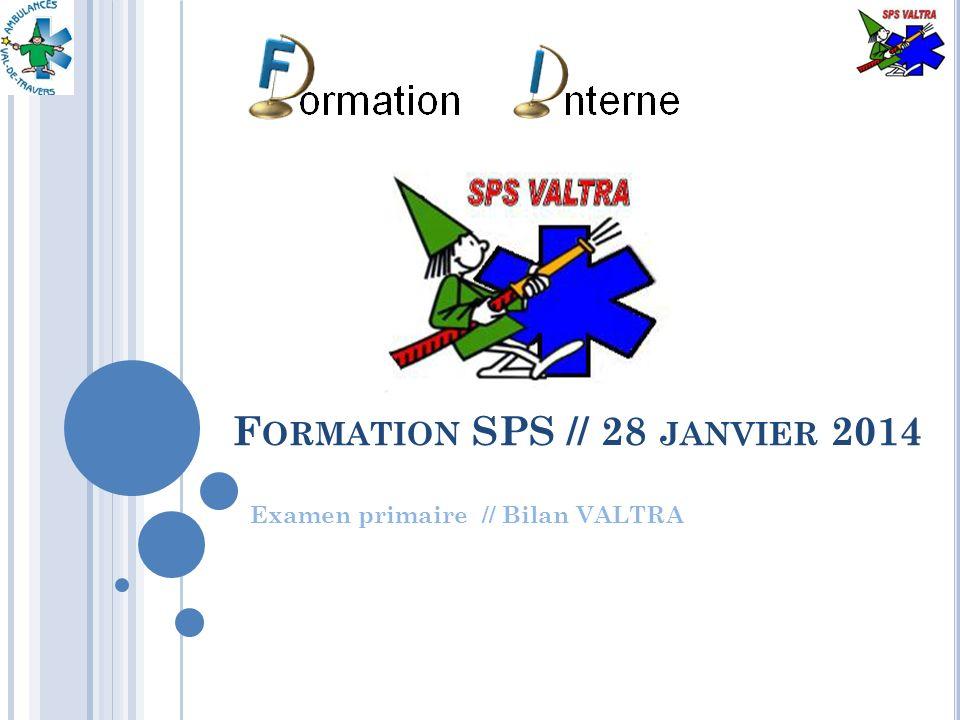 3.E XAMEN PRIMAIRE 12 Formation SPS 2014 // Examen primaire – Bilan VALTRA 28 JANVIER 2014 Les 3S // Exemples