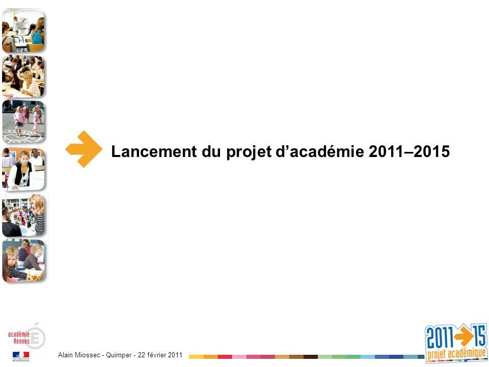 Alain Miossec - Quimper - 22 février 2011 Un nouvel élan ?