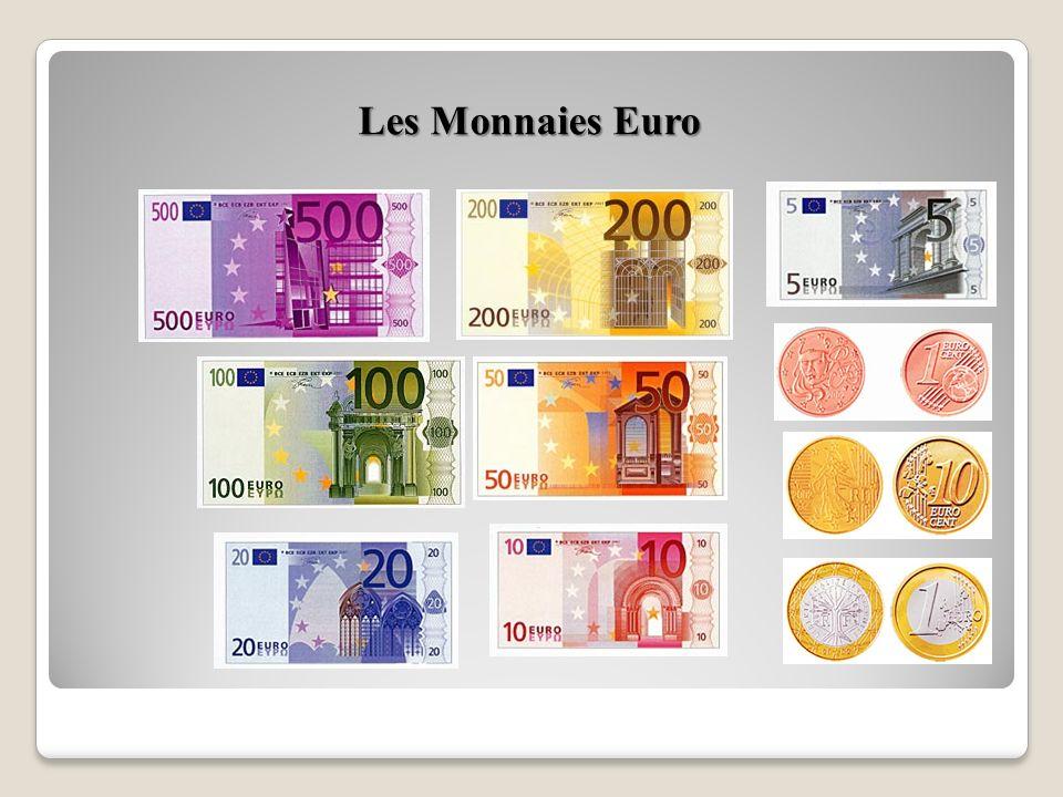 Les Monnaies Euro