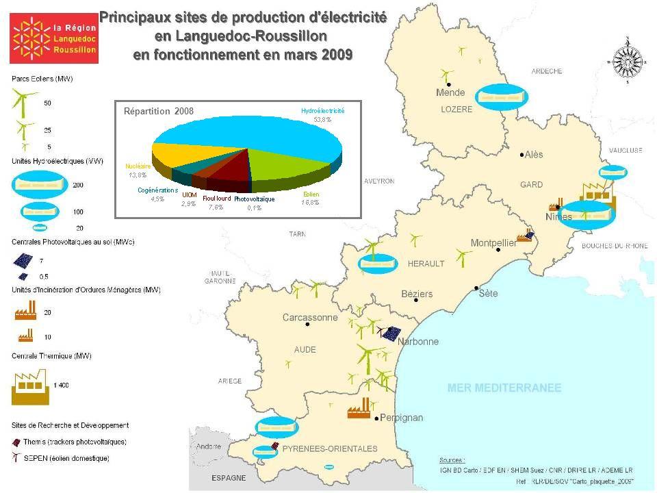 15i ème rencontre interprofessionnelle régionale Production totale 2008 : 9 600 GWh soit 827 ktep (Observatoire) Production totale 2007 : 9 300 GWh (D