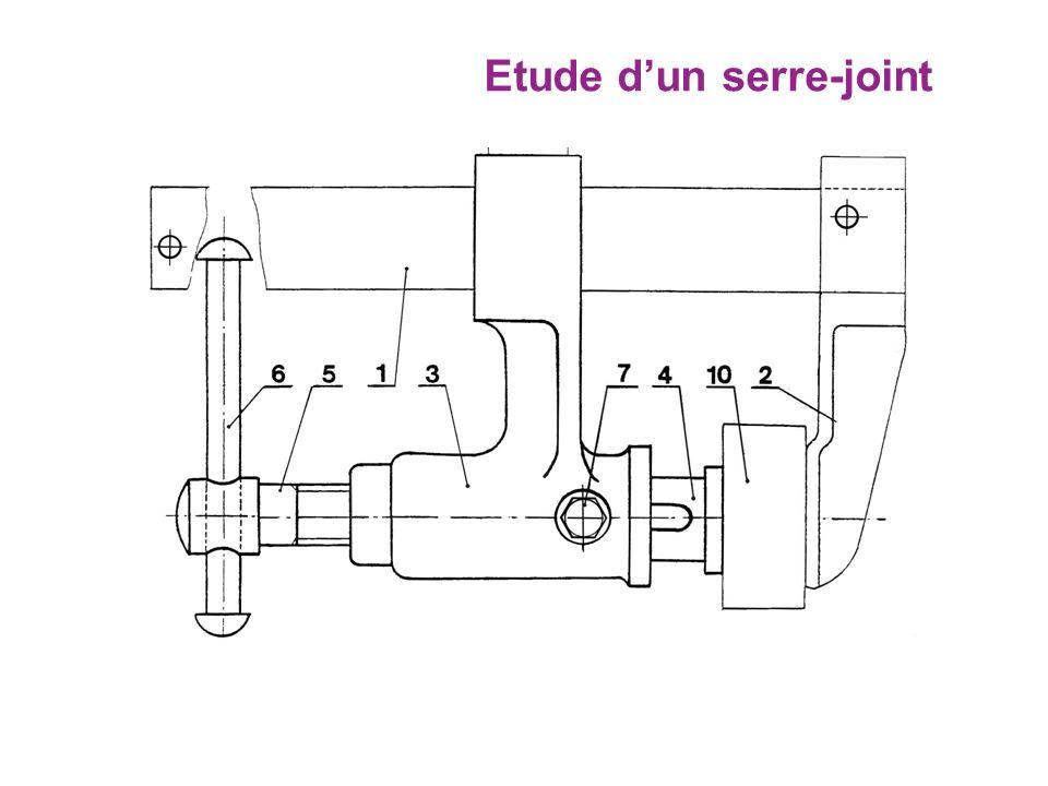 Etude dun serre-joint