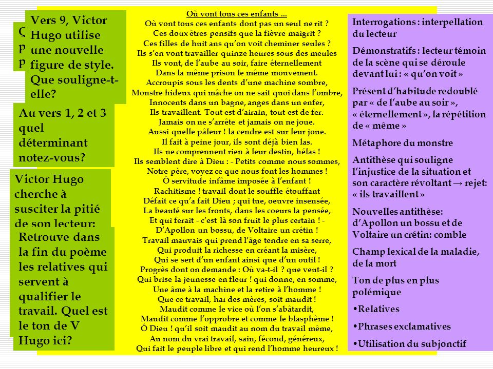 III- Melancholia, de Victor Hugo
