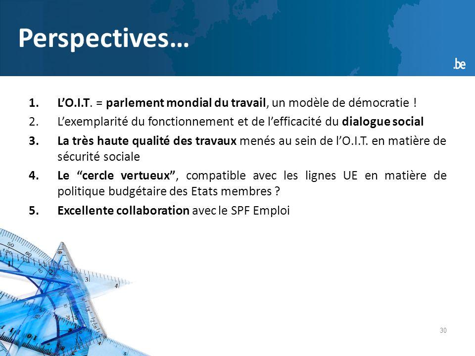30 Perspectives… 1.LO.I.T. = parlement mondial du travail, un modèle de démocratie .