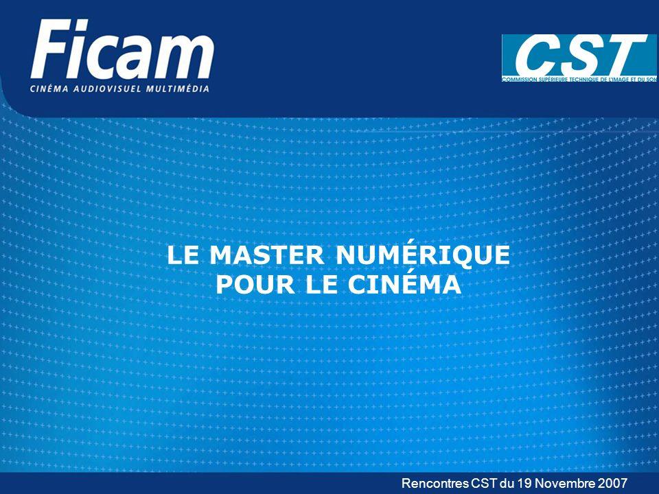 FICAM – www.ficam.fr CST – www.cst.fr Le Master Numérique Quallons-nous voir .