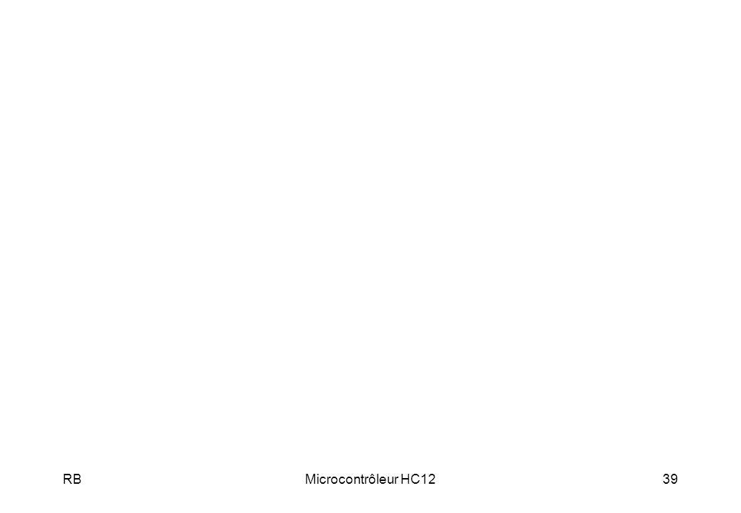 RBMicrocontrôleur HC1239