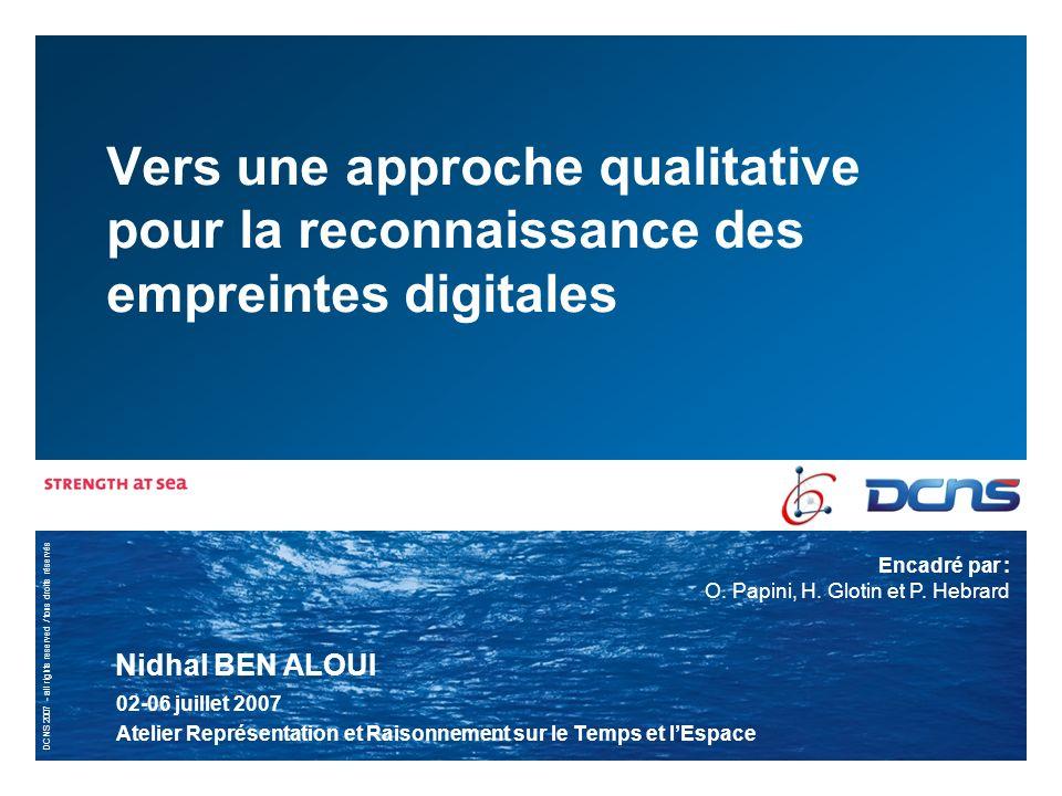 2 | 02/07/2007 | DIVISION SIS – RTE 2007– présentation travaux de recherches Quest ce quune empreinte digitale .