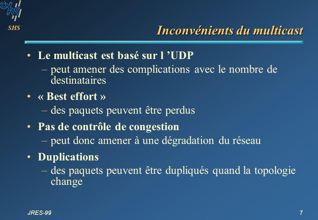 SHS JRES-9938 Conférences Les vieux : –VAT, NV, IVS, FreePhone, Rendez-Vous, NVAT...