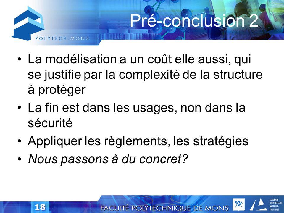 17 Règlements et procédures Règlement, stratégies Procédures de réaction Documentation, diagrammes (infrastructures, rôles, flux de données, …) No sec