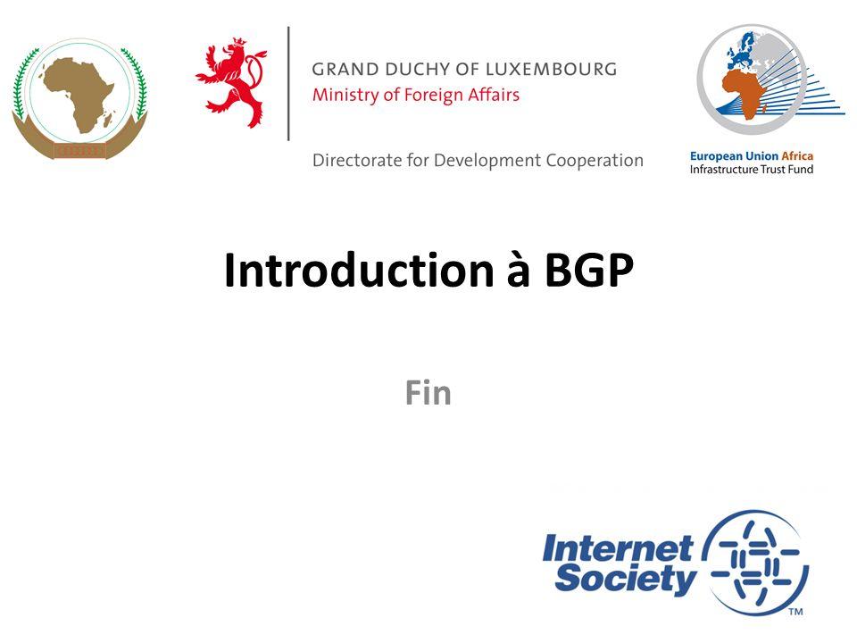 Introduction à BGP Fin 40