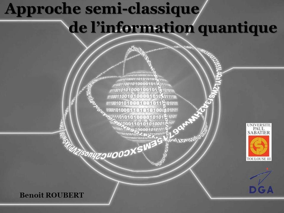 Opération de Reshuffling Lien matrice dynamique – Propagateur : Propriétés de Hermitienne : Bloc – positive : Conserve la normalisation de :