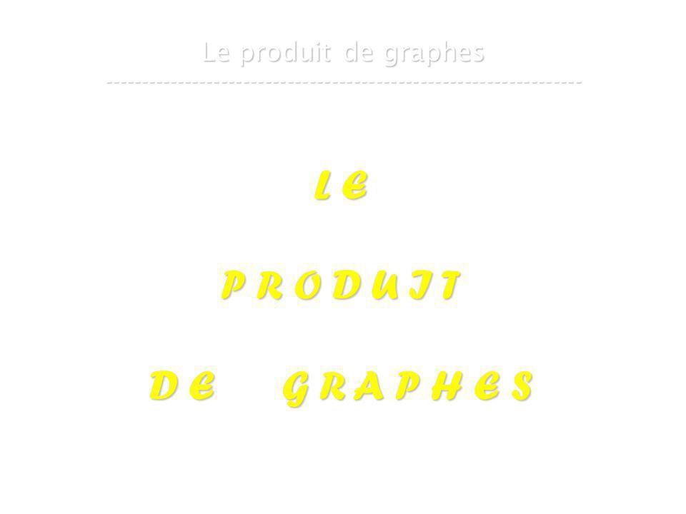 21 mars 2007Cours de graphes 8 - Intranet19 Le produit de graphes ----------------------------------------------------------------- L E P R O D U I T D E G R A P H E S